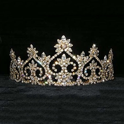 Royal Court Tiara - Gold 172-13600G