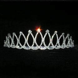 Jeweled Ribbon Tiara