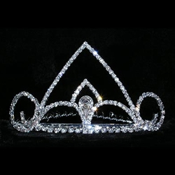 Spaded Pear Tiara Comb 172-14833