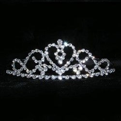 Flowing Heart Tiara 172-14970
