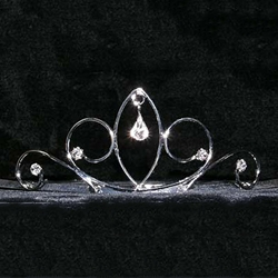 Pear Drop Wire Tiaras 172-15261