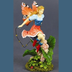 Jump Rope Fairy Statue 18-6534