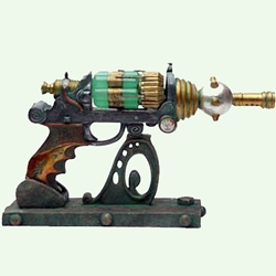 The Steampunk ECCID Blaster with Stand 18-8679