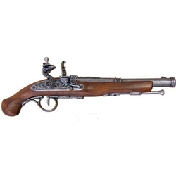 18th Century Flintlock Pistol - Grey - Non-Firing