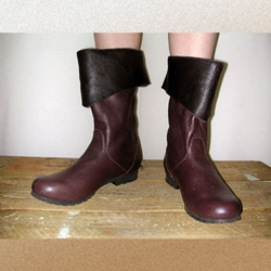 Ladies Bristol Short Leather Boot