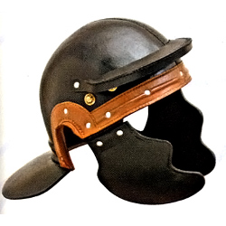 Leather Roman Trooper Helmet 200548