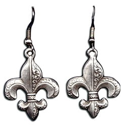Small Fleur De Lis Earrings 132.0689