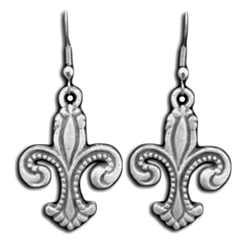 Deluxe Fleur de lis Earrings 21-2128