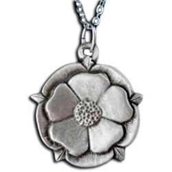 Tudor Rose Necklace Pendant 126.0670
