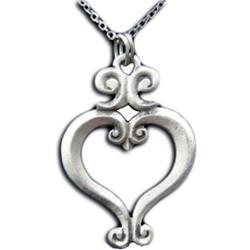 Renaissance Heart Necklace 21-2213