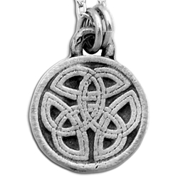 Round Celtic Knot Necklace Pendant 126.0681