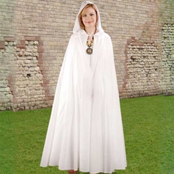 Hooded Cotton Cloak 22-C1055