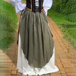Medieval Skirt with Apron