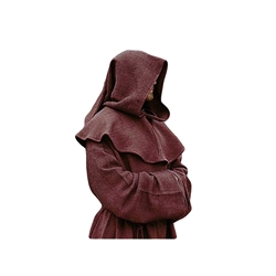 Medieval Monks Robe & Hood Set - LARP - SCA 100298
