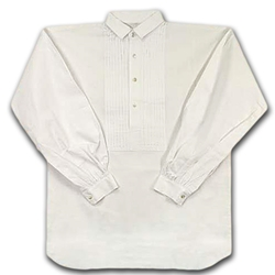 Civil War Pleated Front Dress Shirt 26-100914