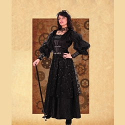 Empire Woman's Steampunk Gown 26-101140