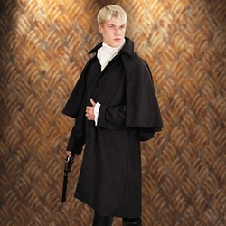 Baker Street Coat Charcoal Grey 26-101490