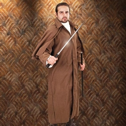 Baker Street Coat Brown 26-101491