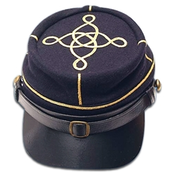 Civil War Officer's Kepi - Lieutenant Blue or Gray