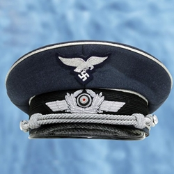 German WWII Luftwaffe Officer's Cap Reproduction 26-802207