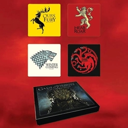 Game of Thrones Four Sigil Coaster Set 26-803982