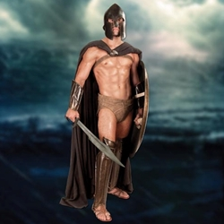 300 Rise of an Empire Spartan Cape