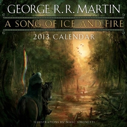 A Song of Ice and Fire 2013 Calendar 27-53154-4