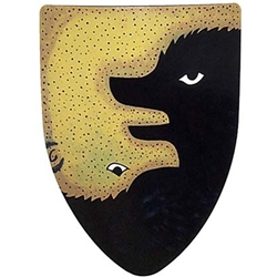 Bears Steel Heater Shield