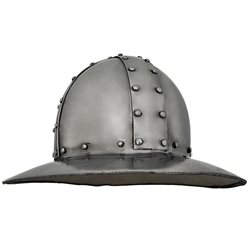 Kettle Hat Helmet, 2mm Thick Steel, Large