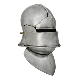 European Sallet Visor Browplate Bevor, Large AB0472