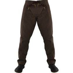15th Century Pants Brown XXL Medieval Hosen