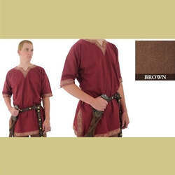 Viking Shirt, Brown, Extra Extra Large 29-GB3459