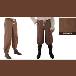 Pirate Pants, Brown, Extra Extra Large