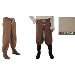 Pirate Pants, Natural, Extra Extra Large