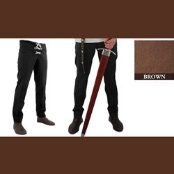 Medieval Hose Brown Medium