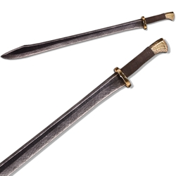 Chinese Dao LARP Longsword - Bronze colored Hilt - 39 inches