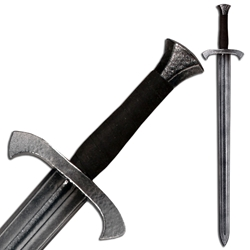 Foot Soldier's LARP Longsword - Steel Color Hilt