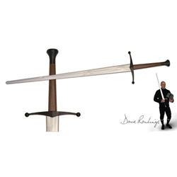 Xtreme Synthetic Sparring Longsword-Silver Blade 29-PR9012