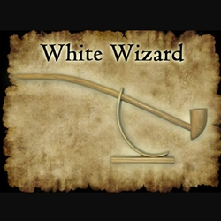 White Wizard Pipe 30-W808