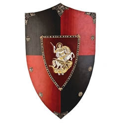 Wooden Shield of St George/Black Prince