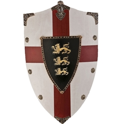 Richard the Lionheart Wooden Shield 31-AG872
