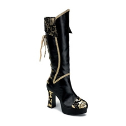 Corset Laced Steampunk Boots 34-1044