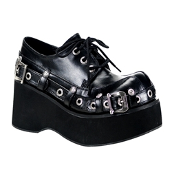 Dank Buckled Platform Shoes 34-3061
