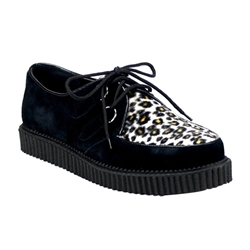 Creeper Men's Fur Platform Shoes 34-3192