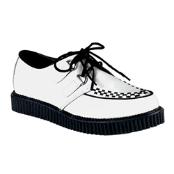 Creeper Leather Woven Shoes 34-3194