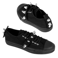 Deviant Spiked Low Top Sneakers 34-3198