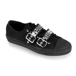 Deviant Low Top Pyramid Studded Sneakers 34-3202