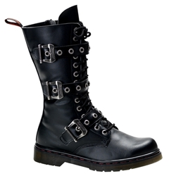 Disorder 3 Strap Combat Boots 34-3226
