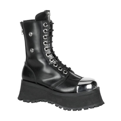 Pole Climber Leather Combat Boots 34-3247
