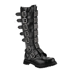 Reaper Leather Buckle Boots 34-3254